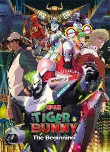 tiger  bunny movie 1 the beginning